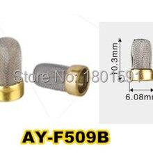 10 штук топливный инжектор металлический микро фильтр 10,3*6,08*3 мм для Bosch Unviersal ремонтные наборы деталей топливной форсунки(AY-F509B