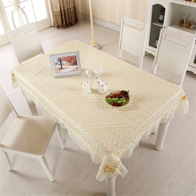 Refrigerator Coffee Table.Us 7 8 Pastoral Lace Table Cloth Rectangle Square Round Dining Coffee Table Refrigerator Nightstand Dustproof Cover Tablecloth Tapetes In