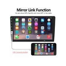 QN8035 12 v 1 Pcs 7 inch 2 DIN HD 1080 P Per Il Cellulare Android Auto Radio Stereo Lettore MP5 videocamera vista posteriore Per Wince Sistema