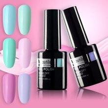 Beautilux 1pc Light Color Spring Flower Blue Green Pink Gel Nail Polish UV LED Soak Off Nails Art Varnish 10ml