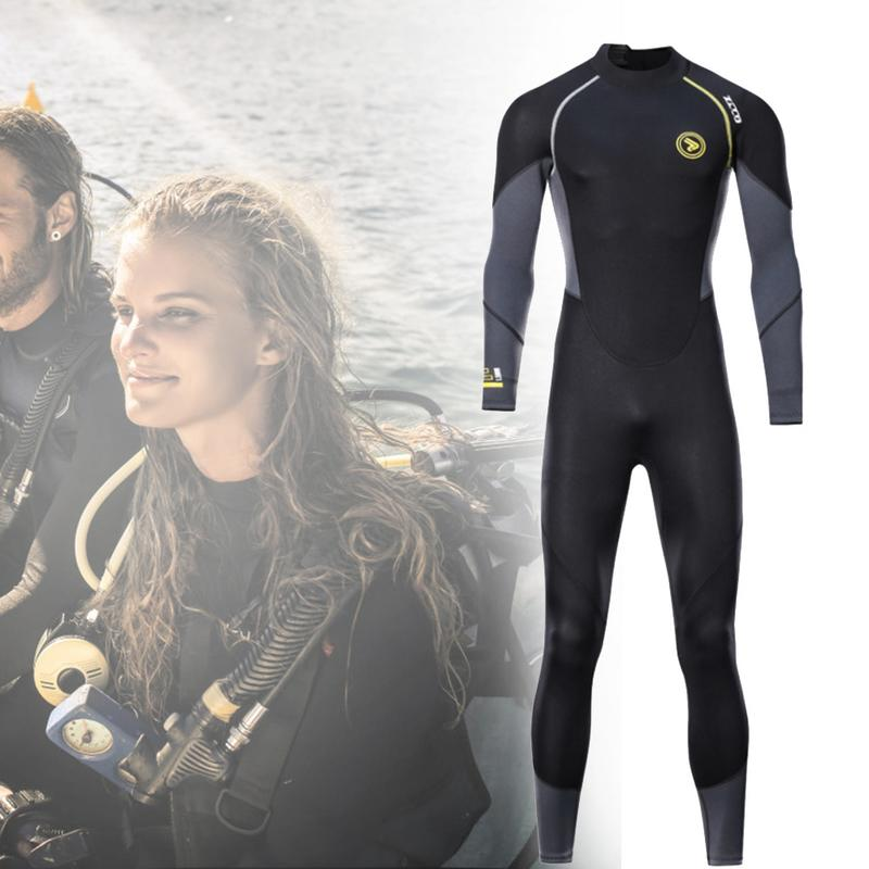For ZCCO New 1 5mm Diving Suit Surf Clothing Sunscreen Winter Swimming Warm Snorkeling Bodysuit Jellyfish