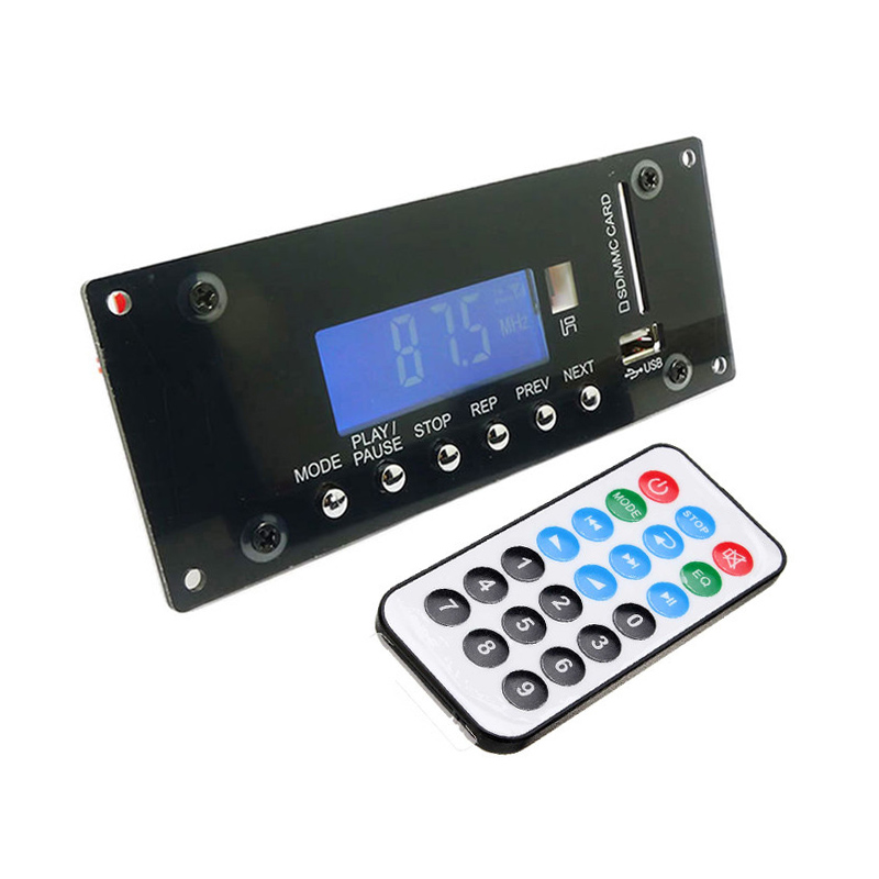 Wireless Bluetooth 4.0 Lossless Audio Module MP3 Decoding Board Support Radio Record SD USB APP Control APE FLAC WMA AUX