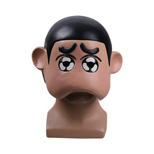 Crayon Shin-chan Mask Japan Anime Cosplay Masks Wearable Latex Adult Halloween Party