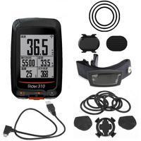 Rider 310 Enabled Waterproof GPS cycling bike bicycle wireless speedometer bicycle edge mount