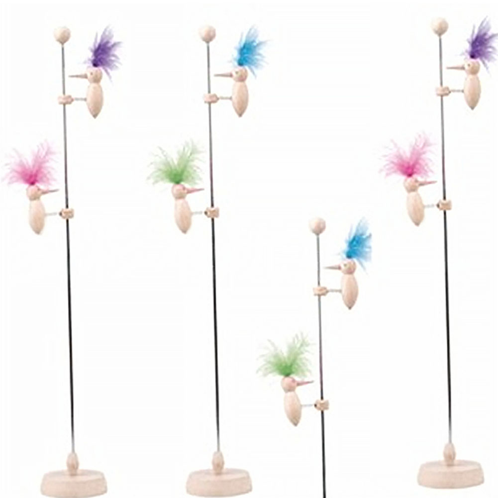 1Set DIY Magic Spring Woodpecker Model Physics Science Educational Gadget Kids Toy DIY Scientific Experiments Toy Gift