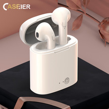 CASEIER I7S Wireless Bluetooth Earphone HIFI Wireless General With Charging Box Case Auriculares bluetooth inalambrico Headset awei g20bl bluetooth earphone headphone dual driver headset wireless sport earphone bass sound auriculares inalambrico bluetooth