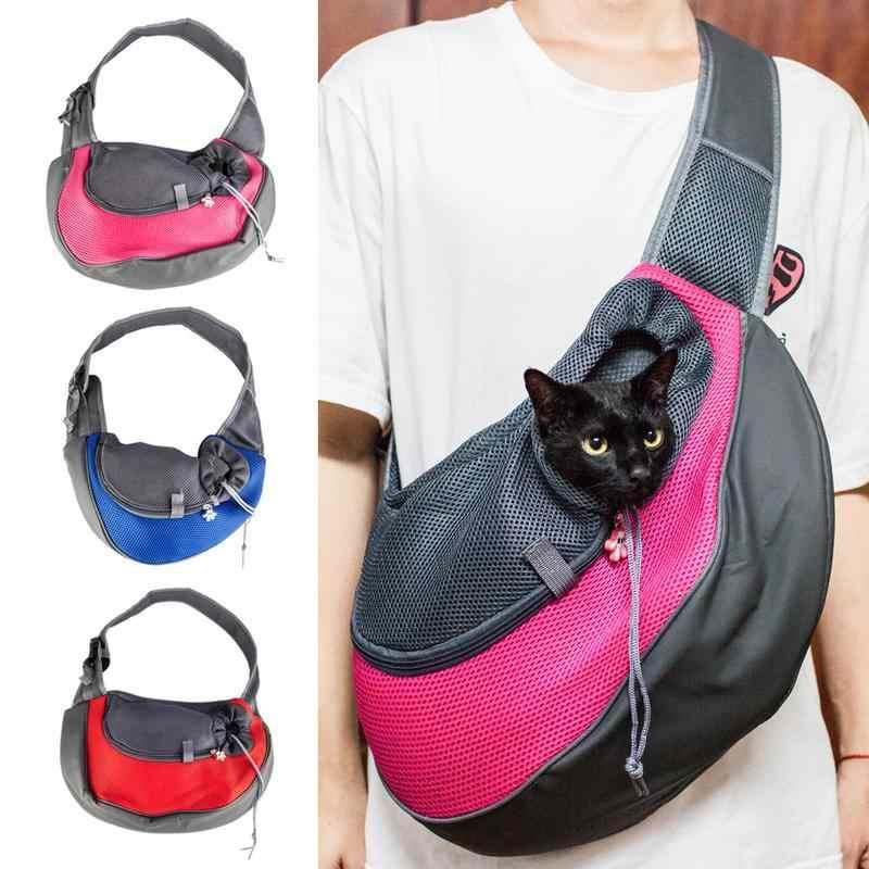 אור נייד תיק מנשא לחיות מחמד כלב כלבלב Carrier חיצוני נסיעה נוח לחיות מחמד חתול כתף תיק תיק מלונה בית