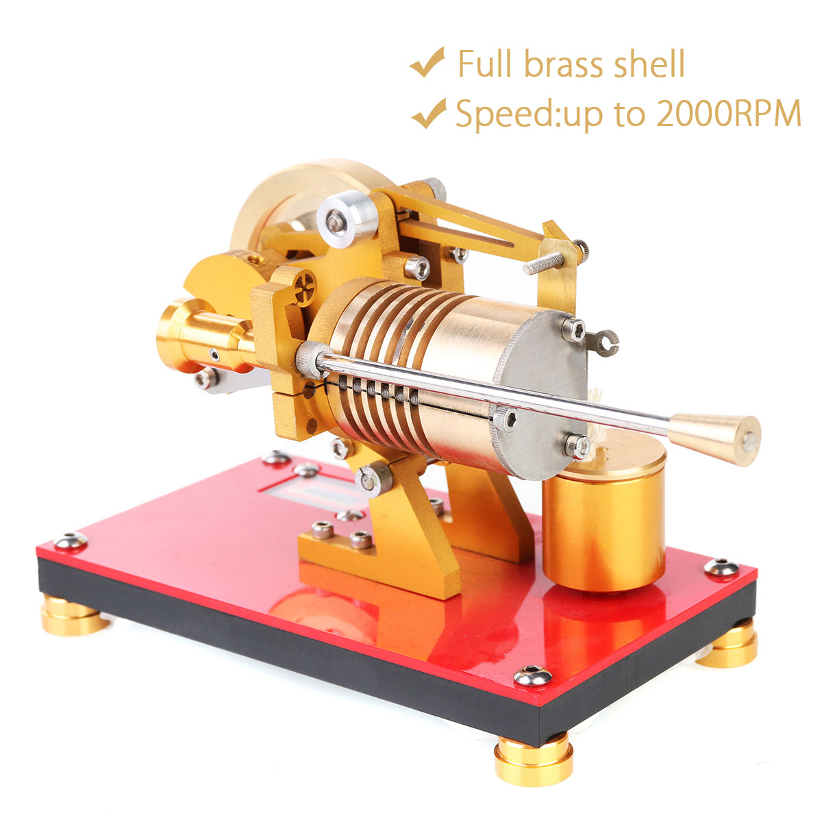 LBLA New Stirling Engine Model Full Metal Power Motor Toy Steam Miniature for Toys Kids EducationalLBLA New Stirling Engine Model Full Metal Power Motor Toy Steam Miniature for Toys Kids Educational