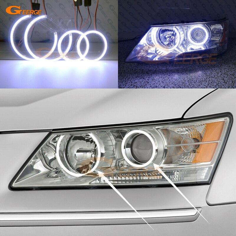 For Hyundai Sonata NF Transform 2008 2009 2010 Excellent Ultra bright illumination COB led angel eyes