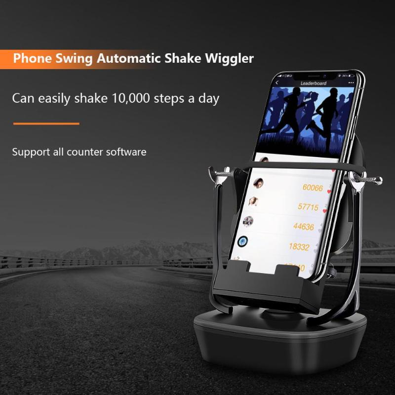 Mobile Phone Accessories Cellphones & Telecommunications Hearty Novel Revolving Swing Balance Ball Phone Holder Amount Perpetual Motion Physics Intelligent Automatic Pedometer Phone Holder