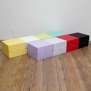 Image 2 - 2017 جديد لون الخبز صندوق 6 بوصة 21x21x15 سنتيمتر 8 بوصة 26x26x15 سنتيمتر 10 بوصة 12 بوصة تنقش عيد ميلاد كعكة المعجنات هدية صندوق