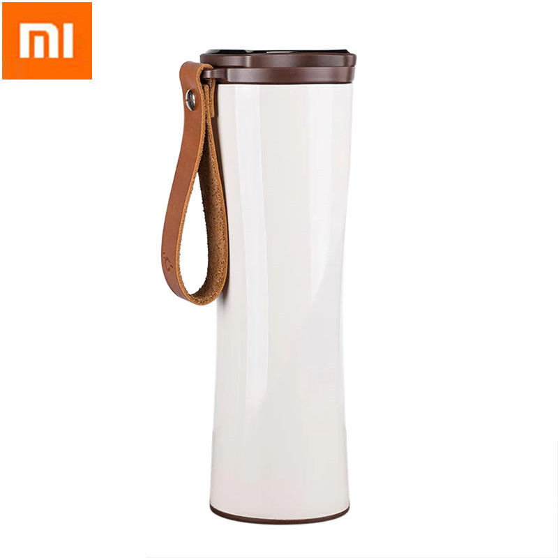 XIAOMI KISSKISS FISH Portable Smart Vacuum Cup Thermal Bottle Flask Insulation Water Bottle OLED Display For Outdoor Car Home