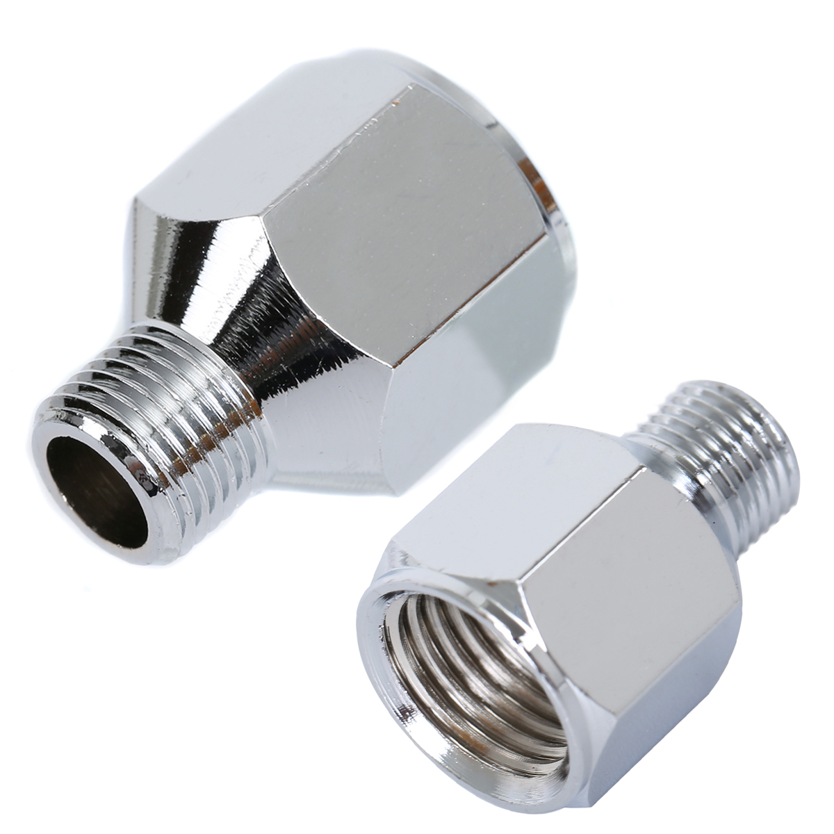 Airbrush Air Hose Adaptor Connector 1/4 BSP Female To 1/8 BSP Male Spray Pen Transfer Connecter Quick Coupler Pipe Fittings