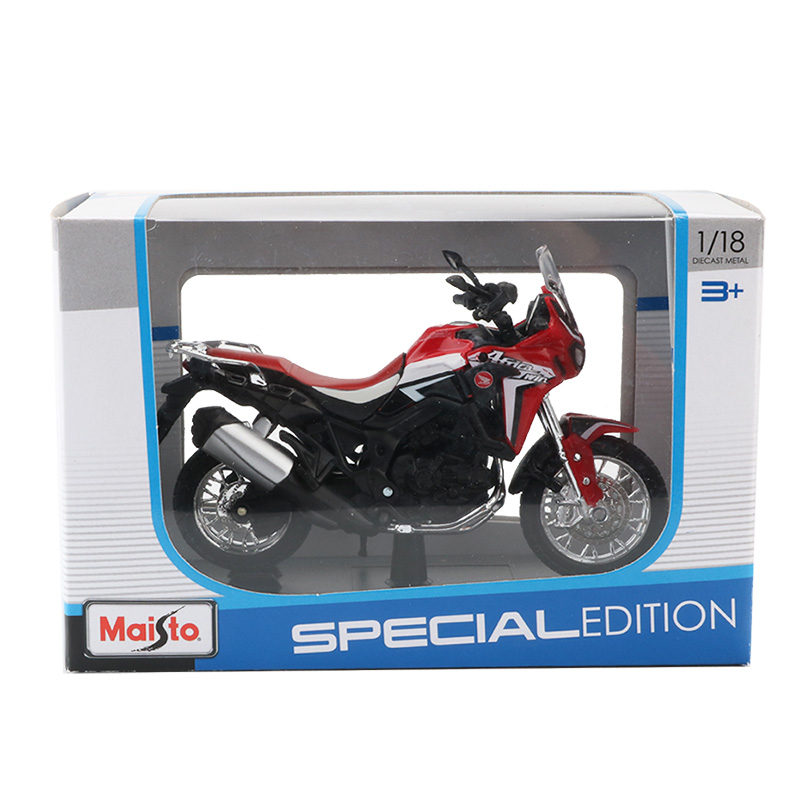 Africa Twin DCT CRF1000L Motorcycle Toy Model 5