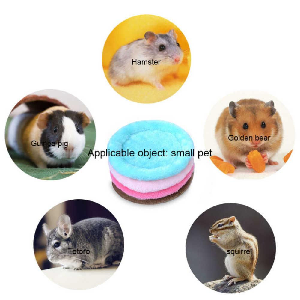 Новый плюшевый мягкий домик для свинки мягкий домик для хомяка мини животное Мыши Крысы гнездо кровать белка хомяк дом товары для маленьких питомцев