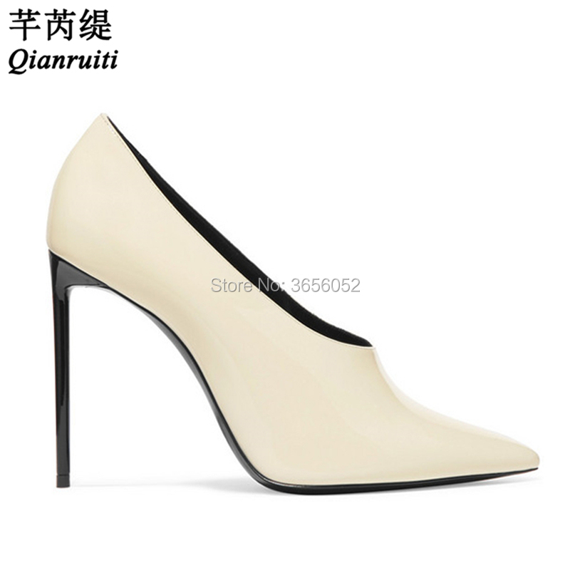 Buy cream shoes heels and get free shipping on AliExpress.com 01c6a2ff6e32