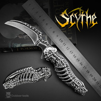 OWL OD005 Free ship Folding blade knife High Custom Hunting Handmade 8Cr13MoV camping knife outdoor stainless steel knive