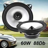 2 шт. 4 дюймов 60 Вт 2 способа авто динамик s коаксиальный Hifi полный диапазон динамик сабвуферы автомобиля дверь аудио стерео громкий динамик