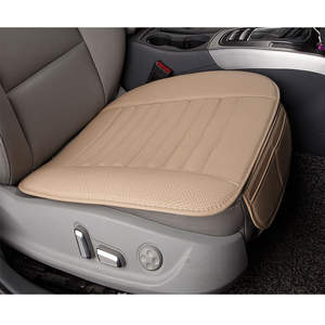 Amazon Sell Like Hot Cakes Foreign Trade For Car Seat Cushion Four Seasons General Single Chip Mat New Style No Backrest Bamboo