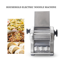ITOP Electric Noodle Makers Pasta Dumpling Machine Food Processor Stainless Steel Noodle Maker Cutter Machine 220V Pasta Maker