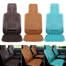 1pcs Summer Cool PVC Beaded Car Seat Cover Massage Auto Cushion With Waist Covers Vehicle Car-styling