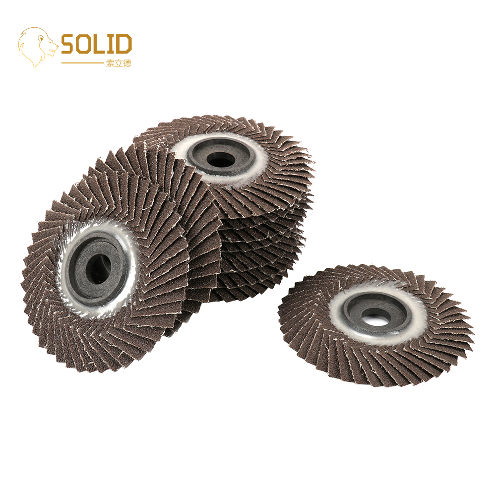 10Pcs 4 Inch 80/320# Flap Sanding Disc With 5/8