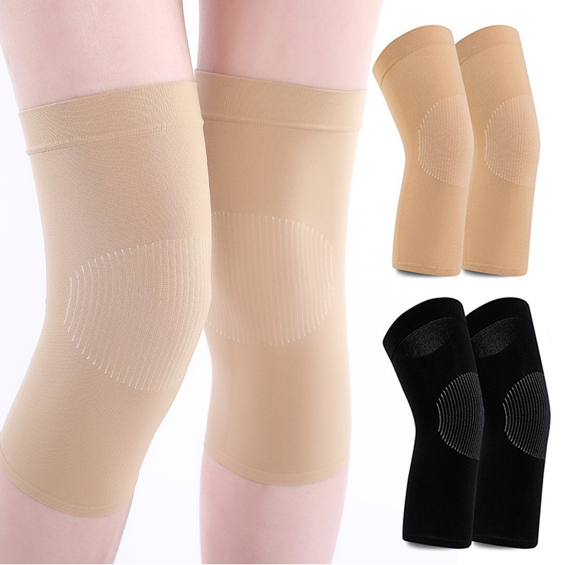 Knee Sleeves Kneepad Winter Women Protection Kneepad Sport Compression Knee Compression Joint Pain Relief Leg Warmers
