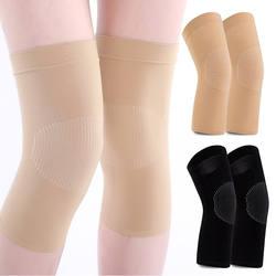 Наколенники с рукавами, зимние женские защитные наколенники, Спортивные Компрессионные наколенники