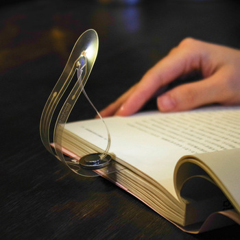 Portable Book Light Usb Rechargeable Reading Lamp Eye Care Night Light As Bookmark 1