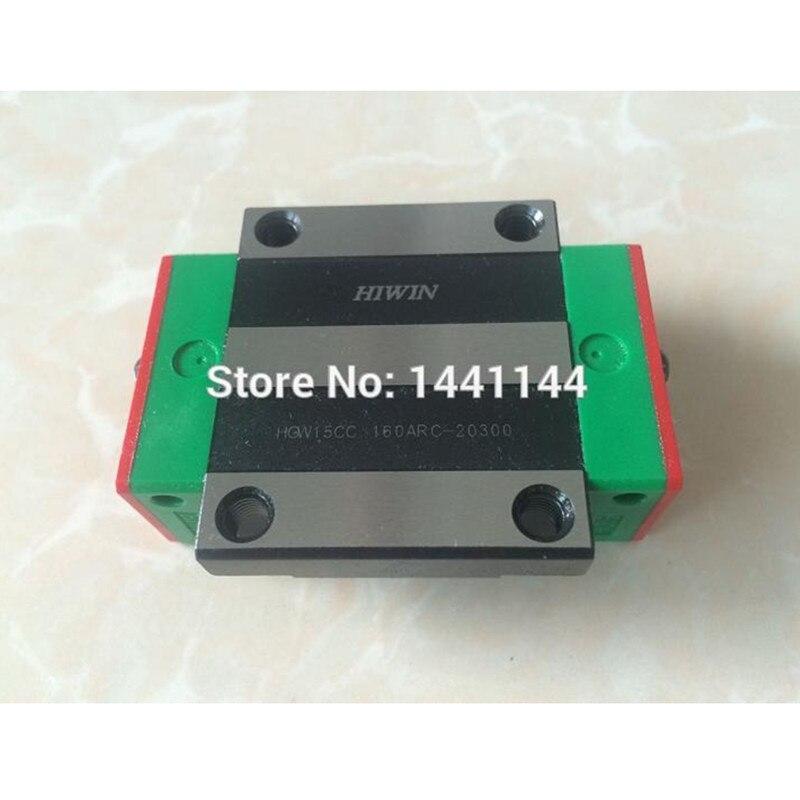4 pc HGW20CA 100% New Original HIWIN marque linéaire bloc de guidage pour HIWIN linéaire rail HGR20 CNC pièces