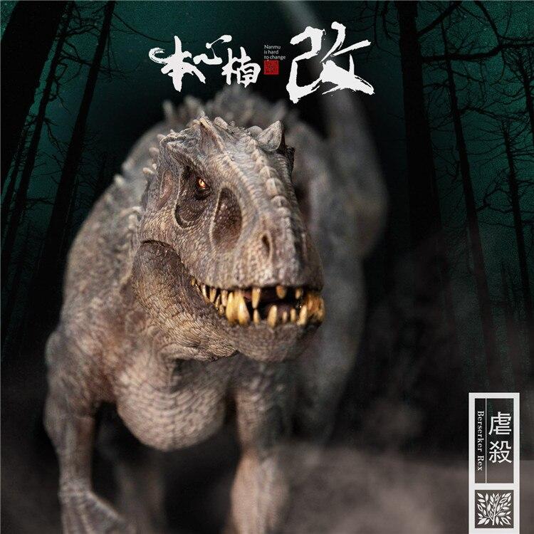 In Stock New Jurassic World Bereserker REX I-Rex 1/35 Scale PVC Dinosaur Figure