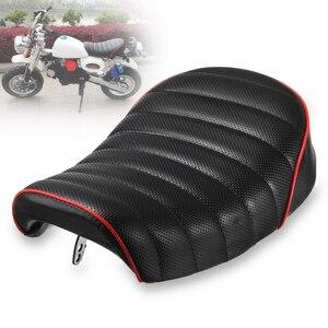 Styl Vintage garb pokrywa motocykl miejsce kierowcy miękki czarny dla Honda MONKEY Z