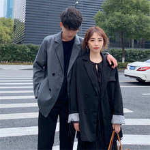 Spring And Summer New Product Lovers Dress Short Drooping Suit Loose long trench Coat men fitted Leisure Mans windbreaker