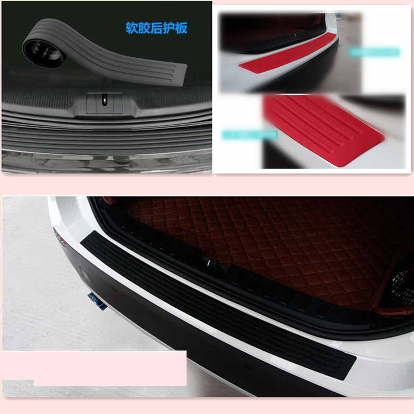 Car rear bumper protection rubber stickers for Chrysler 300C Voyager PT Cruiser Grand Voyager Sebring Pacifica Town Country 300|Car Stickers| |  - title=