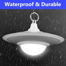 30W Outdoor Waterproof Solar Powered UFO Light LED Garden Decor Camping Lamp outdoor led solar light Hot Sale