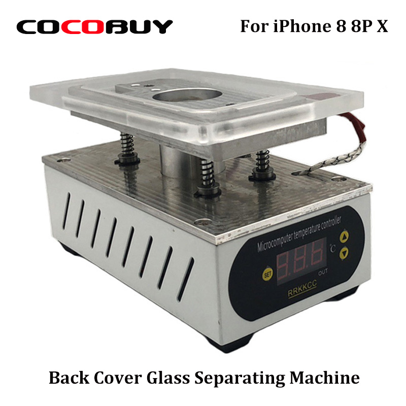 Back Cover Glass Separating Machine For iPhone X iPhone 8 Plus iPhone 8G Broken LCD Separate Repair Machine Tools 110V/220V цена