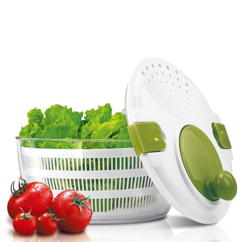 Household Salad Dehydrator Manual Vegetable Salad Spinner Large Manual Salad Vegetable Washer SpinnerHousehold Salad Dehydrator Manual Vegetable Salad Spinner Large Manual Salad Vegetable Washer Spinner