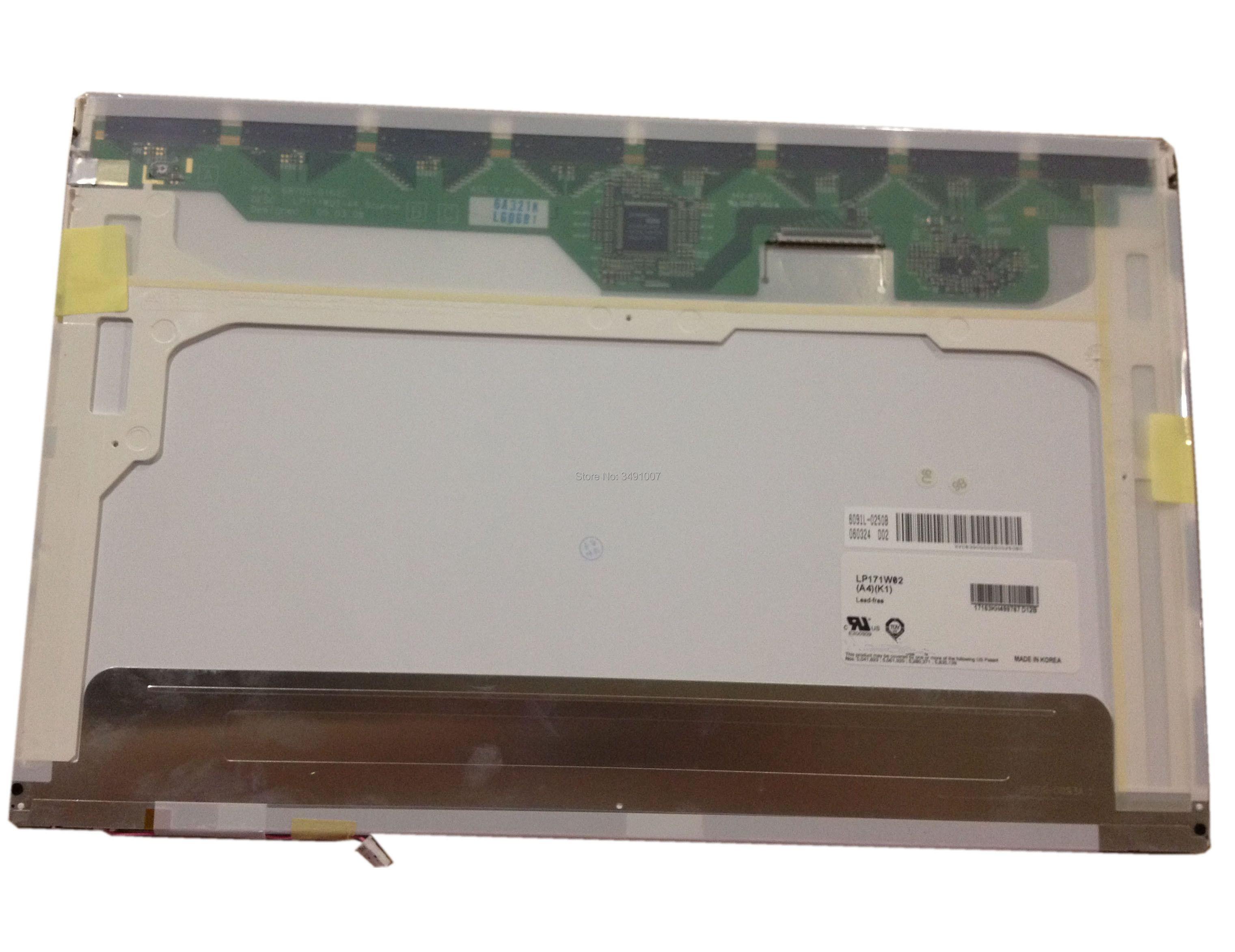 LP171W02 A4  fit LTN170P1-L02 LP171WE2 LP171WE3 LTN170WP-L02 LP171W02 LTN170P2-L02 LCD Screen 1680*1050 PanelLP171W02 A4  fit LTN170P1-L02 LP171WE2 LP171WE3 LTN170WP-L02 LP171W02 LTN170P2-L02 LCD Screen 1680*1050 Panel