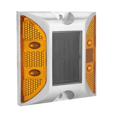 2 HZ литье Алюминиевый Дорожный шпилька открытый солнечный светильник для дороги простой дизайн