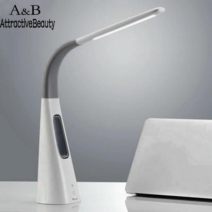 Durable Practical LED Reading Lamp with Fan Air Purifier Aromatherapy Health Light Protect Eye Touch Sensing Rotatable