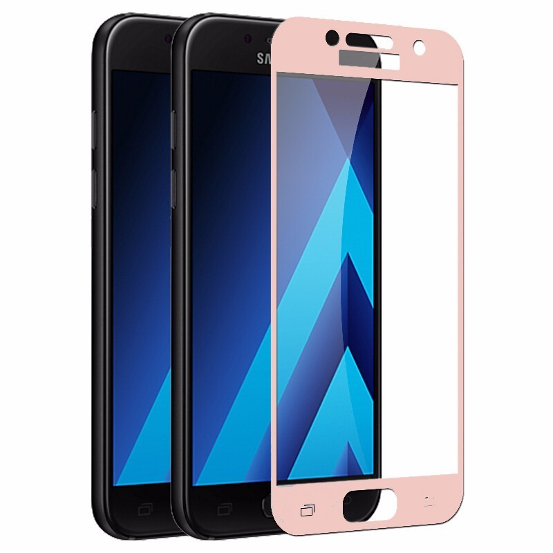 Full Cover Tempered Glass Screen Protector For <font><b>Samsung</b></font> Galaxy J7 J5 J3 2107 Duos J730 <font><b>J330F</b></font> <font><b>SM</b></font>-J530F/<font><b>DS</b></font> J530F Film Case Cover image