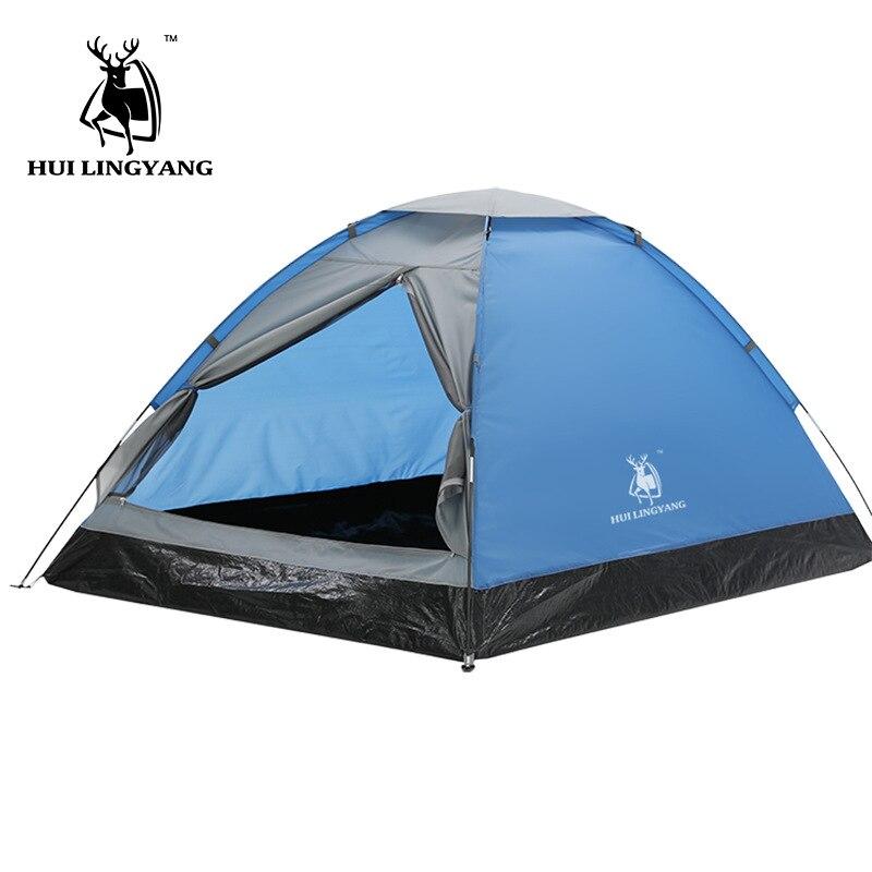 HUI LINGYANG 2 personnes tente extérieure automatique tentes Pop Up étanche Camping randonnée plage tente