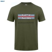 GILDAN  Retro Martini Racinger Classic Le Mans Vintage Mens mens Christmas Gift T-Shirt Fashion T Summer Straight