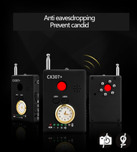 Anti wiretap monitoring mobile phone anti candid Camera Detector signal monitoring positioning wireless scanning GPS CX307+