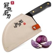 اليدوية مزورة سكين الطاهي يرتدون الصلب مزورة الصينية الساطور المهنية سكاكين المطبخ اللحوم الخضروات تقطيع أدوات التقطيع