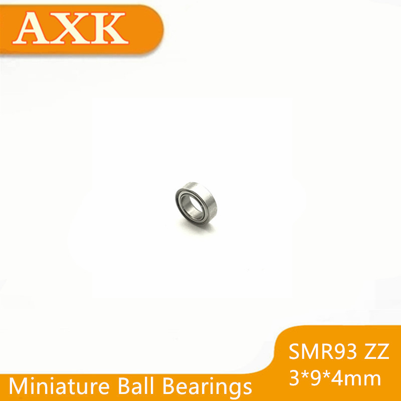 2019 Sale Time limited Smr93zz Abec 3 10pcs 3x9x4 Mm Stainless Steel Miniature Smr93 Zz Ball Bearings Smr93 zz in Bearings from Home Improvement