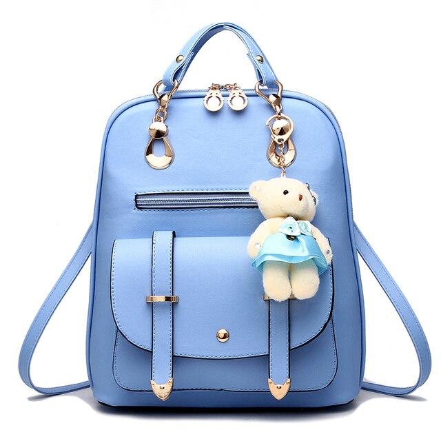 女性 mochila 女性 bagpack 女の子ための十代の簡潔な女性のバックパックバッグ嚢 a ドスバックパック sırt çantası ミニバックパック