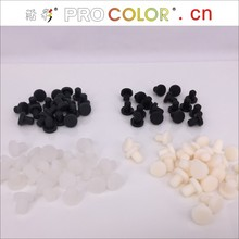 5.0mm 5.16mm 5.0MM 5.16 5  5.0 3/16 13/64 mm 5mm silicone wall plug Dustproof plug silicone Rubber stopper White cap plug 54pc high temp silicone rubber powder coating paint solid tapered stopper plug kit color varies according to inventory