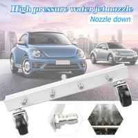 VODOOL High Pressure Car Washer 4 Nozzle Car Chassis Water Spray Ground Washing Brush With 1/4 Connector Car Washing Clean Tool