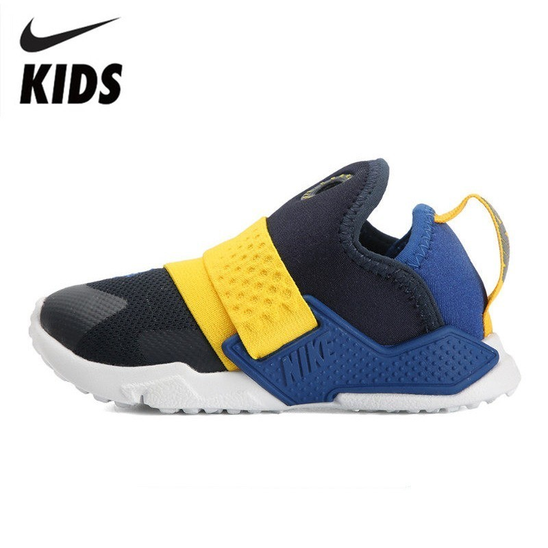 quality design f9159 8efc7 US $46.2 72% OFF|NIKE HUARACHE Kids Original Children Breathable Running  Shoes Outdoor Casual Sports Sneakers #AH7827 404-in Sneakers from Mother &  ...